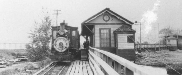 WW&F Train in Wiscasset
